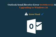 0x800ccc13 outlook error